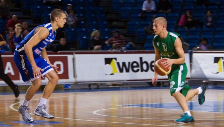 'Valmieras' komanda BBL spēlē pēdējā ceturtdaļā atzīst 'Kalev'/'Cramo' pārākumu