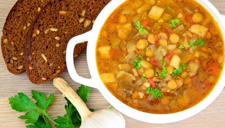 20 varen gardas un maciņam draudzīgas latviešu tradicionālās virtuves zupas