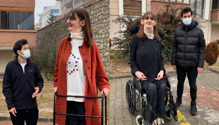 Atrasta pasaulē garākā sieviete – 2,15 metrus gara turciete