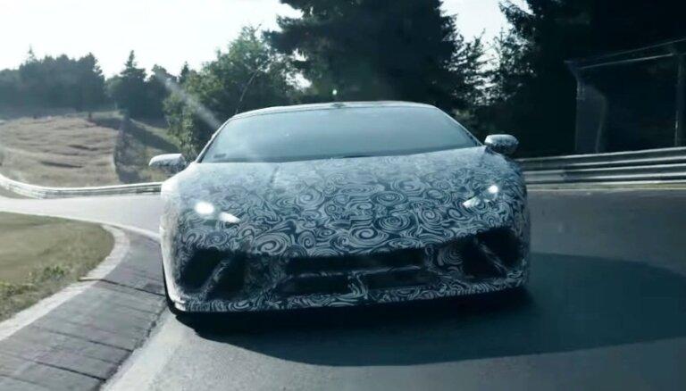 Video: 'Lamborghini' uzstāda jaunu Nirburgringas trases rekordu