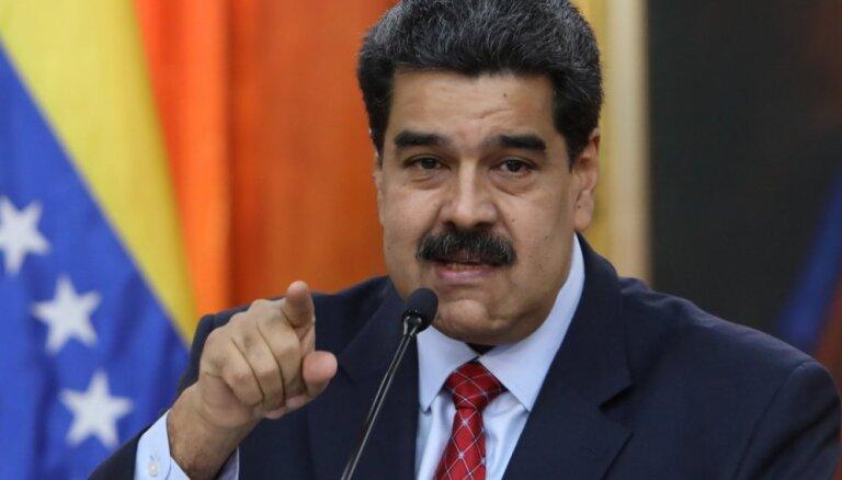Maduro vēlas uzsākt dialogu ar visiem politiskajiem spēkiem