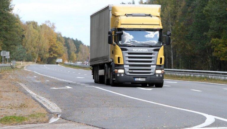 В Латвии могут ужесточить ПДД для грузовиков