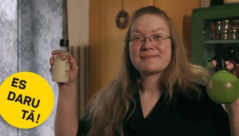 Nomazgā ar glanci: Folkloriste Liene Kņaze un viņas paštaisītie tīrīšanas līdzekļi