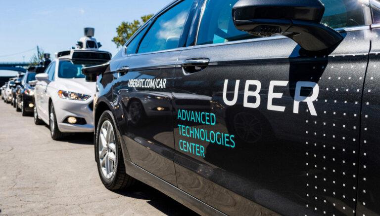 'Toyota' investēs 'Uber' 500 miljonus dolāru, lai kopīgi izstrādātu bezpilota vadības automobiļus