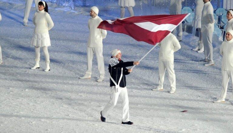 Zināms Latvijas olimpiskās delegācijas provizoriskais sastāvs