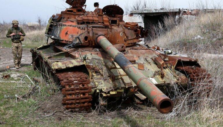 Krievijai jāpārtrauc agresija pret Ukrainu, aicina Rinkēvičs
