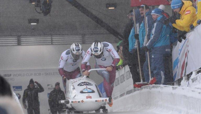Ķibermanis/ Miknis izcīna astoto vietu Pasaules kausa posmā Vinterbergā