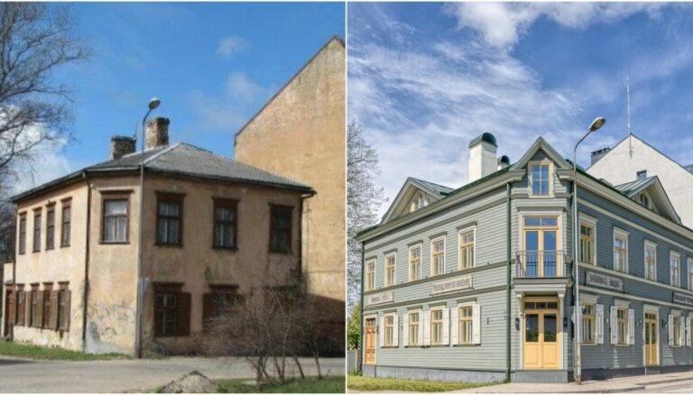 ФОТО: Как здание XIX века на Кипсале превратилось в современный жилой дом