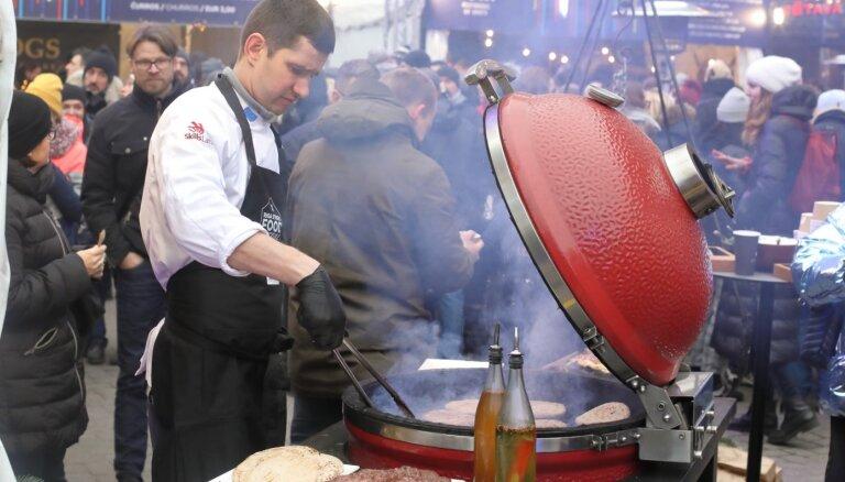 ФОТО: В Риге прошел фестиваль уличной еды Riga Street food