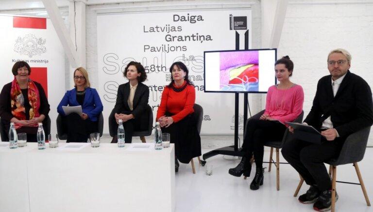 Latviju Venēcijas biennnālē pārstāvēs Daiga Grantiņa ar ekspozīciju 'Saules Suns'