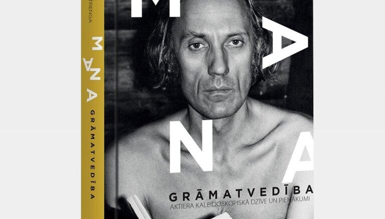 Jaunā grāmatā apkopoti aktiera Jura Strengas stāstīti atgadījumi par teātri