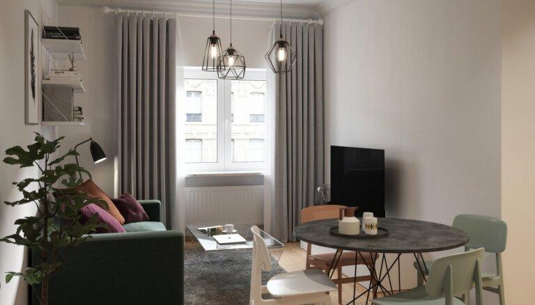 ФОТО: В Лиепае появится жилой дом с квартирами стоимостью до 105 тысяч евро