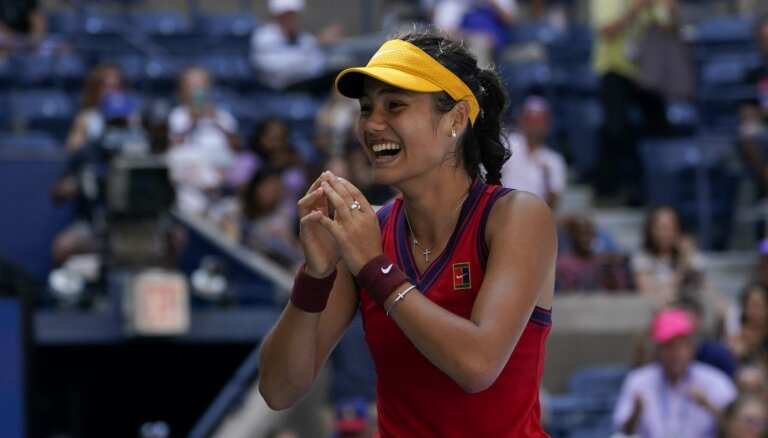 Radukanu pēc uzvaras 'US Open' zaudē Indianvelsas 'WTA 1000' sērijas turnīra pirmajā spēlē