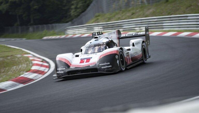 'Porsche' pārspējis pirms 35 gadiem uzstādīto Nirburgringas absolūto rekordu