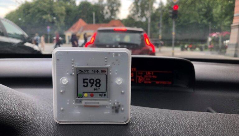 Foto: 'SAF Tehnika' izstrādājusi iekštelpu gaisa kvalitātes monitoringa ierīci