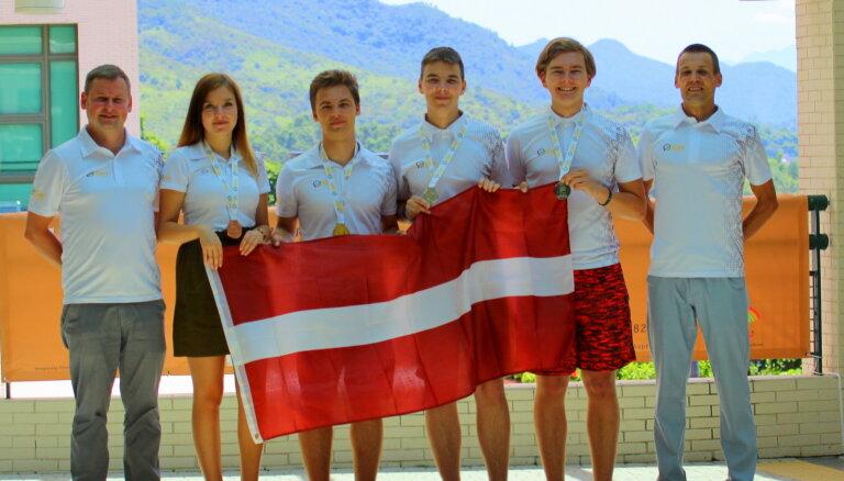 Latvijas skolēniem zelta medaļa arī starptautiskajā ģeogrāfijas olimpiādē