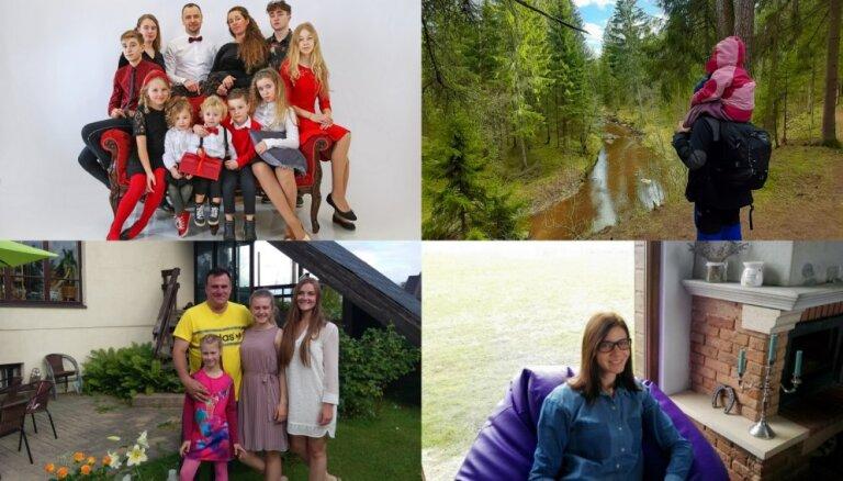 Desmit stāsti, kas pierāda – ģimenē ir spēks