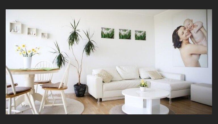 Trīs iemesli, kāpēc lemt par labu baltai krāsai telpās