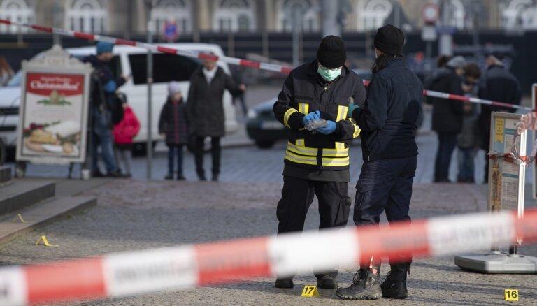 """В Дрездене на миллиард евро ограбили известный музей """"Зеленый свод"""""""