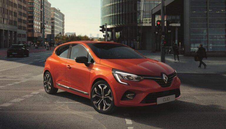 Jaunais 'Renault Clio' kļuvis plašāks un greznāks