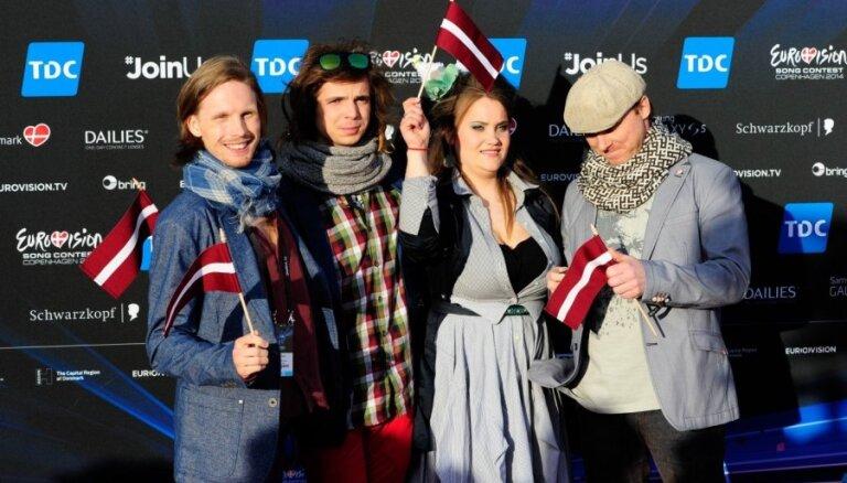 Foto: Ar greznu dalībnieku parādi atklāta 'Eirovīzija 2014'
