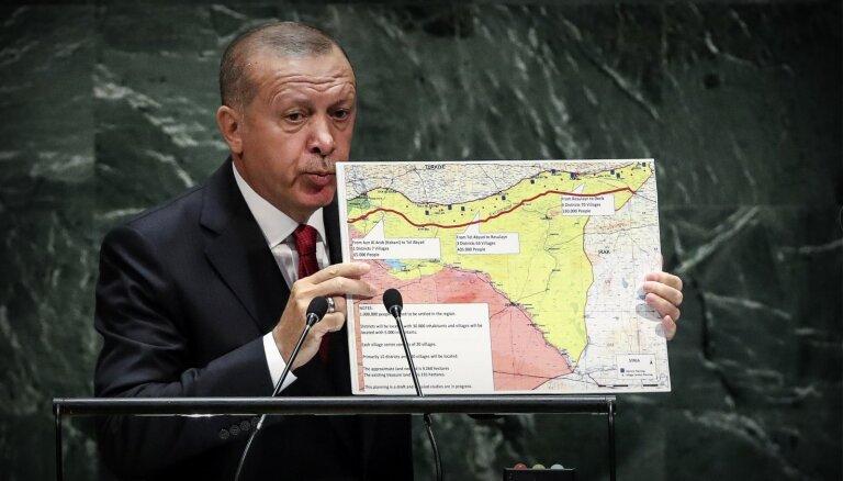 Irāna aicina Turciju tūlītēji pamest Sīriju