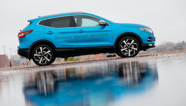 Jaunais 'Nissan Qashqai' ar vairāk nekā 1300 uzlabojumiem