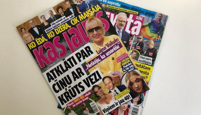 Цена президентского бала, экс-министр пошел налево и как Лайма победила рак: о чем пишут латышские таблоиды