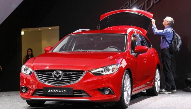 Париж-2012: универсал Mazda 6 предстал перед публикой