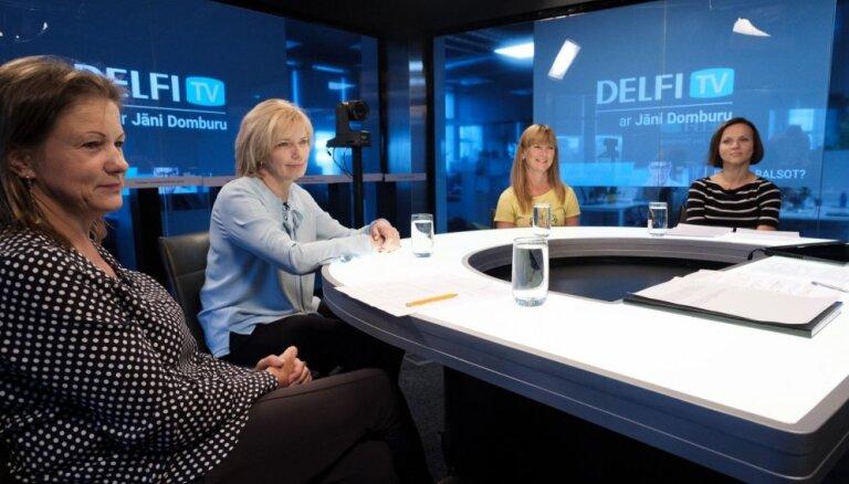'Delfi TV ar Jāni Domburu' diskusija – ko sagaidām veselības nozarē