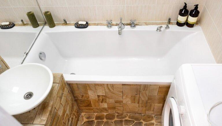 Vietas mazāk nekā vajag – atjautīgas idejas mazu vannasistabu iekārtošanai
