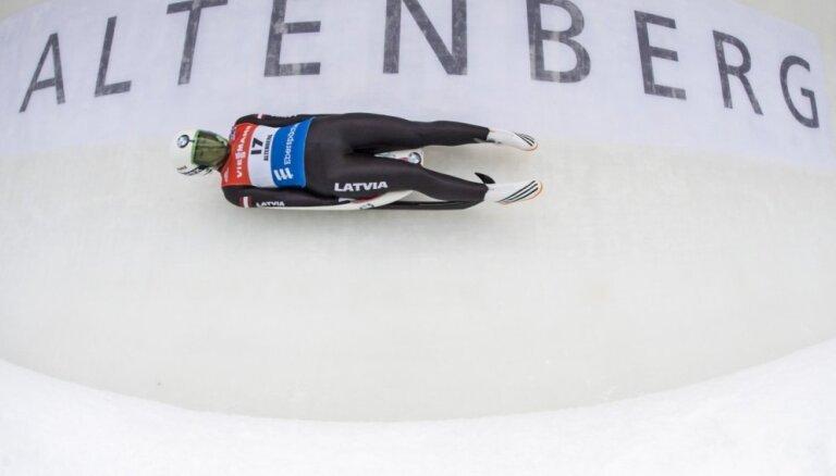 PK posmā Altenbergā ar jaunu trases rekordu uzvar Geizenbergere, Cauce – divpadsmitā