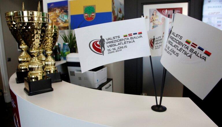 Ikauniece, Palameika un Vaičule startēs Valsts Prezidenta balvas izcīņā Ogrē