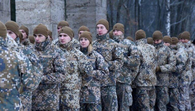 NBS profesionālajā dienestā šogad plāno pieņemt 710 karavīrus