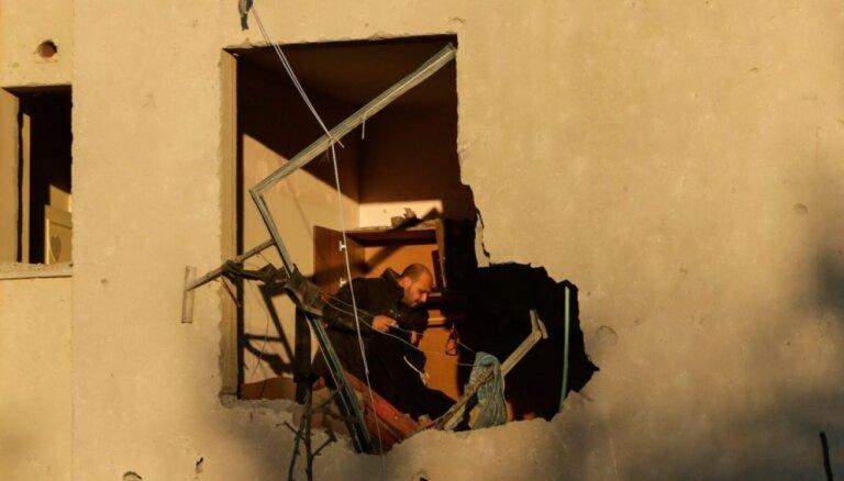 Izraēlas uzlidojumos nogalināti divi palestīnieši