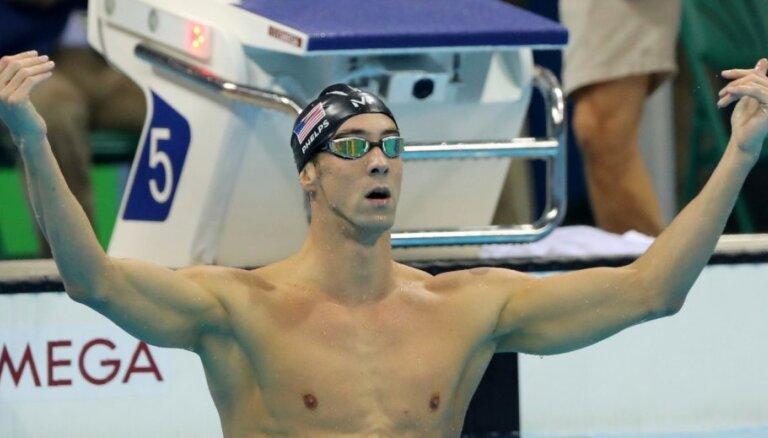 Американец Майкл Фелпс стал 21-кратным олимпийским чемпионом