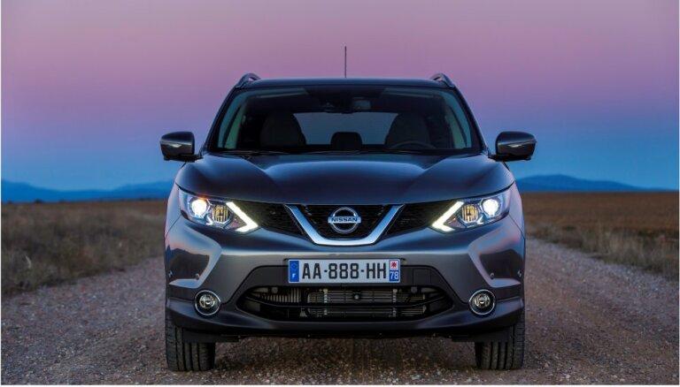 Cамая популярная модель автомашины в Латвии - Nissan Qashqai