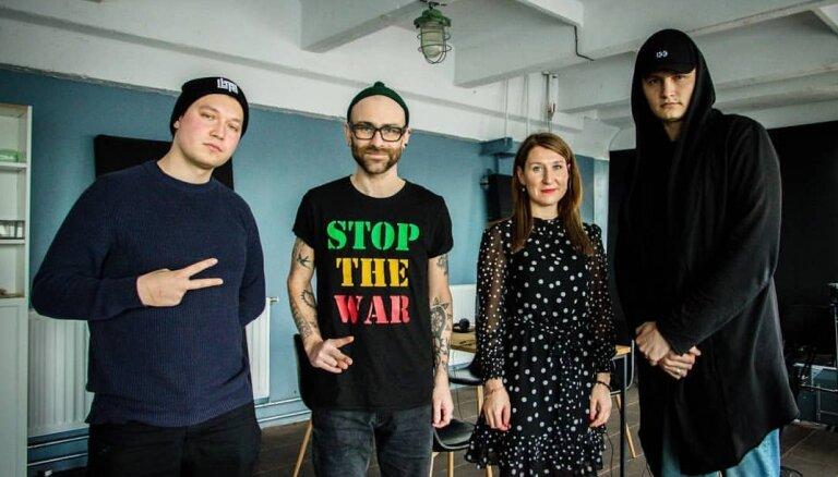 Liena Grīna un Ēriks Saksons par 'Zelta mikrofona' hiphopa nominācijām