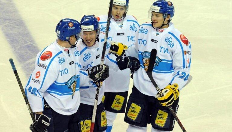 Latvijas pretiniece Somija apspēlē Vāciju