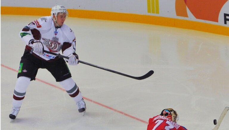 Zināms Rīgas 'Dinamo' sastāvs sezonas tālākajam izbraukumam