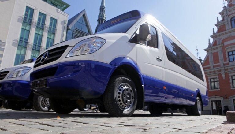 Plānotas plašas izmaiņas minibusu kustībā