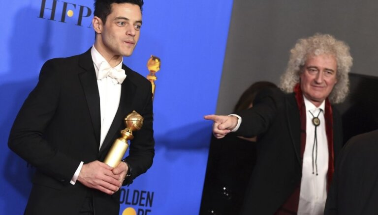 'Zelta globusu' kā labākā filma saņem 'Bohēmista rapsodija'