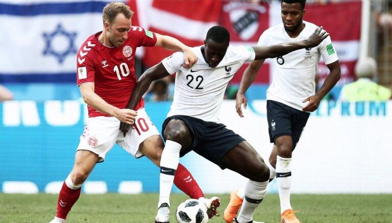 Франция и Дания первыми на ЧМ-2018 сыграли по нулям и вместе вышли в 1/8 финала