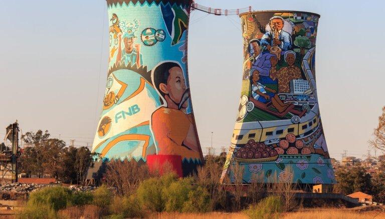 Tūrisma objekts Dienvidāfrikā, ko īpaši mīl asu izjūtu cienītāji