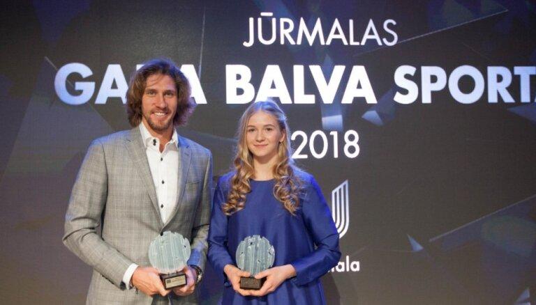 Par Jūrmalas gada sportistiem nosauc Samoilovu un Blaževiču