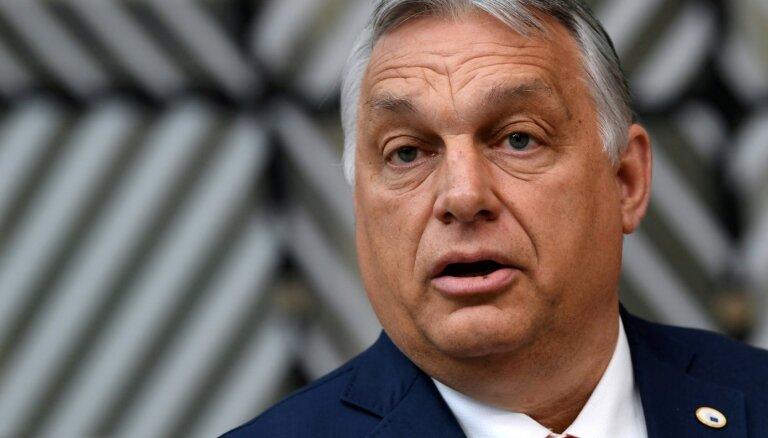 Ungāru premjers Orbāns iekļauts 'preses brīvības ienaidnieku' sarakstā