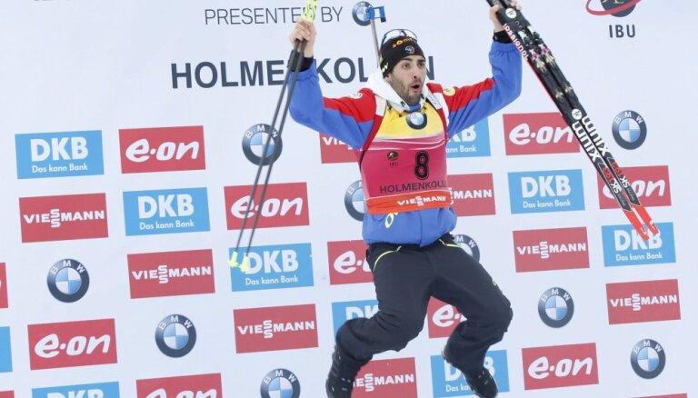 Первые эстафеты биатлонного сезона: Россия упустила подиум, Латвия — 12-я
