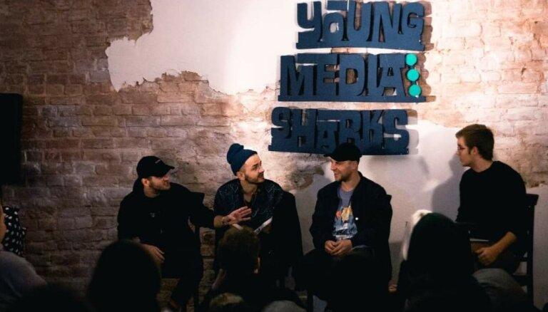 Sestdien 'Lampā' gaidāmas 'Young Media Sharks' diskusijas jauniešiem