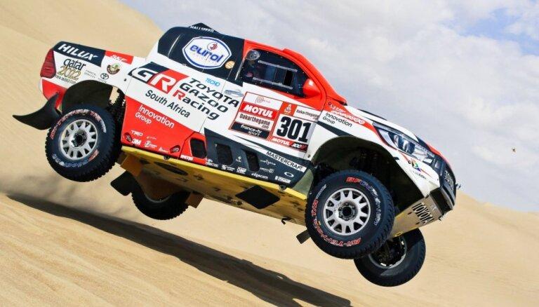 Al-Atija uzvar garākajā Dakaras rallija ātrumposmā un nostiprinās kopvērtējuma vadībā