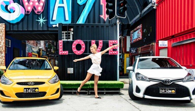 Austrālijā pirmo reizi pasaulē izdos auto numurzīmes ar emocijzīmēm